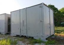 中古JRコンテナ 12フィート(前面・横開き) グレー塗装